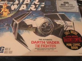 STAR WARS DARTH VADER TIE FIGHTER MODEL KIT ERT... - $45.00