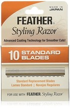 Feather FE-F1-20-100 Standard Blades, 10 Count image 1