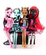 4pcs Monster High Doll Set Dolls Monster 11inch 28cm Spider Moveable Bod... - $33.53