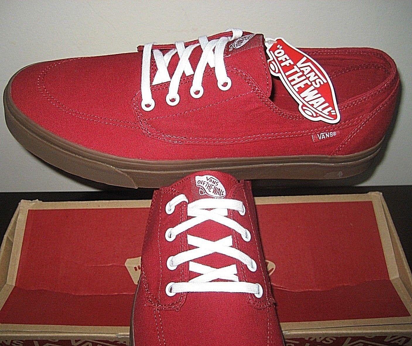 fdd35456b25a Vans Mens Brigata Gumsole Chili Pepper Red and 50 similar items
