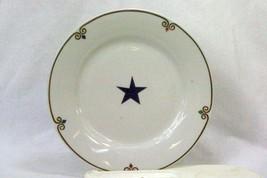 Pier 1 Celebration Blue Star Accent Salad Plate - $6.23