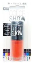 Maybelline Color Show Nail Lacquer 110 Urban Coral 7mL. - $4.74
