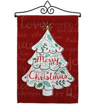 The Christmas Tree - Impressions Decorative Metal Wall Hanger Garden Fla... - $27.97