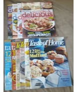 Lot of 10 Taste of Home Magazines (4-Simple & Delicious) (6-Taste of Home)  - $9.00