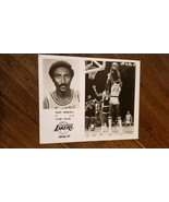 1976-77 LAKERS TEAM ISSUE PHOTO CARD MARV ROBERTS ROCKETS SQUIRES COLONE... - $29.99