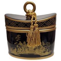 Seda France Elegant Gardenia Classic Toile Black 2-Wick Candle - $62.99