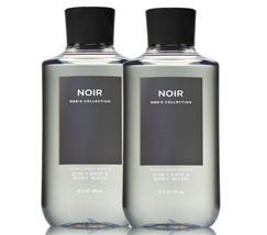 Bath & Body Works Noir For Men 2 - In -1 Hair + Body Wash Duo Set - $26.68