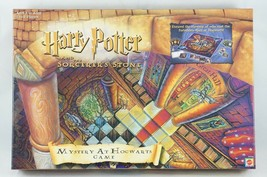 Harry Potter Sorcerers Stone Mystery At Hogwarts Board Game 100% Complete! Euc - $16.93