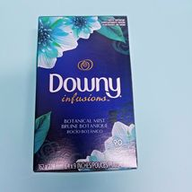 Downy Infusions Dryer Sheets Botanical Mist 90 Sheets - $12.19