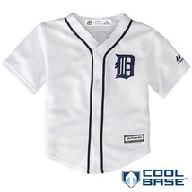 Majestic Athletic Detroit Tigers Home White Infant and Toddler Cool Base Jerseys - $30.64