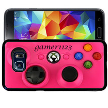 Personalized Case For Samsung S9 S8 S7 S7 S6 Plus Rubber Pink Game Controller - $13.98