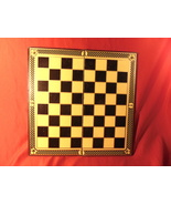 """Vintage, 12"""" by 12"""" Folding, Parker Bros., Checkers Board. Board Only - $29.99"""