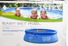 NEW Intex 8ft x 30in Easy Set Swimming Pool w/ Filter & Pump - $148.45