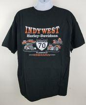 Harley Davidson Plainfield Indiana I-70 Black S/S Men's Motorcycle T Shirt XXL image 4
