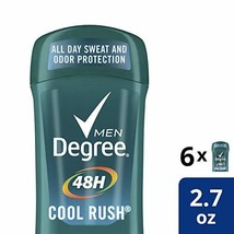 Degree Men Original Protection Antiperspirant Deodorant, Cool Rush, 2.7 ... - $16.97