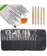 Lola Nail Art Brushes, Dotting Pens Marbling Detailing Painting Striping... - $19.18