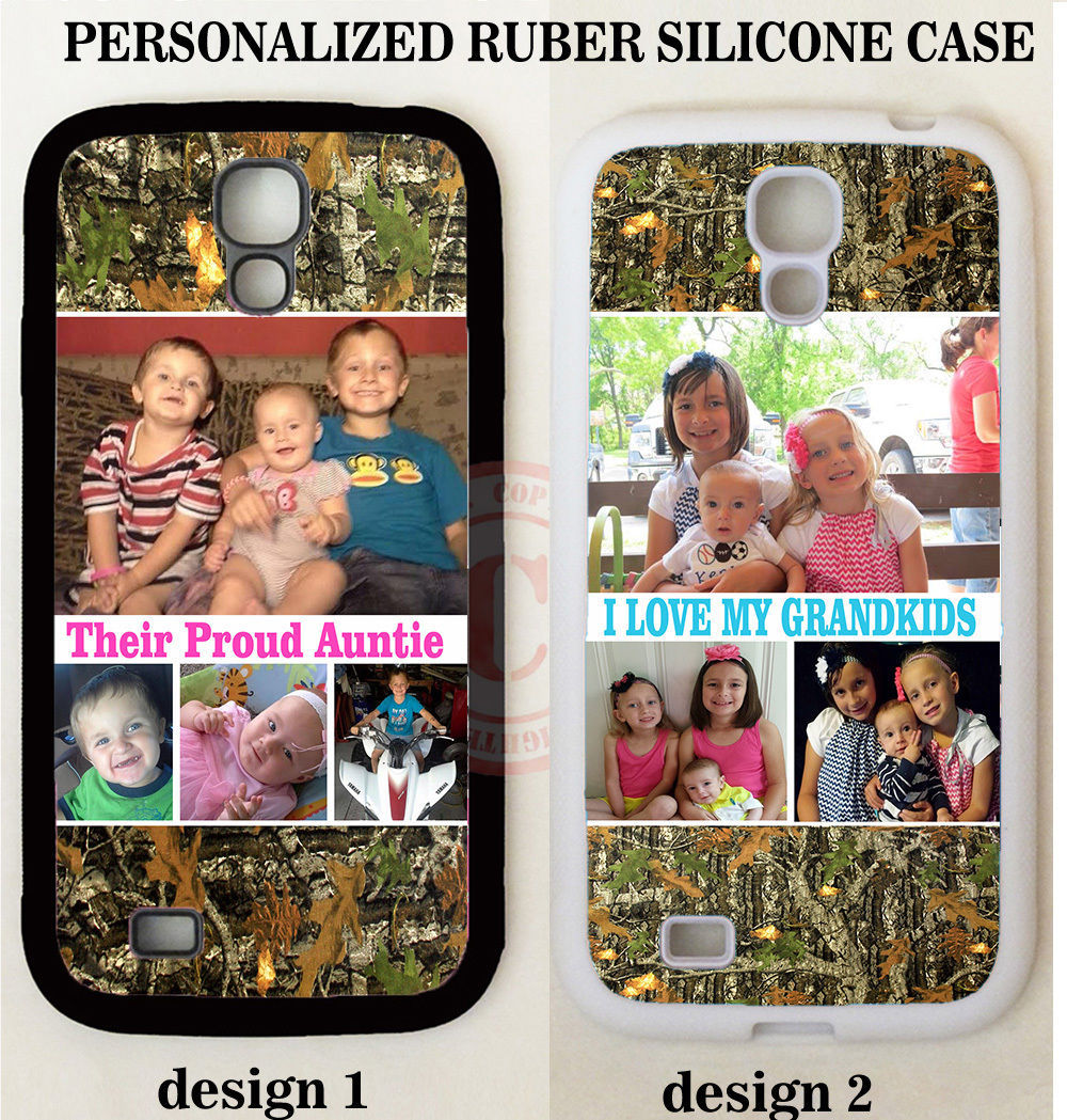 REAL TREE MOSSY OAK CAMOUFLAGE CUSTOM PHOTO CASE For Samsung Galaxy S8 S7 NOTE 8 for sale  USA