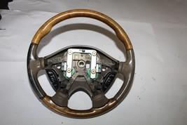 2000-2002 Jaguar S Type Wood Grain Steering Wheel 3278 - $69.29
