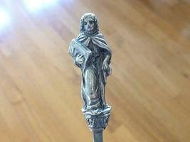 "Vintage APOSTLE Figural Spoon Ludwig Neresheimer 800 Silver Germany 7 3/8"" - $128.69"