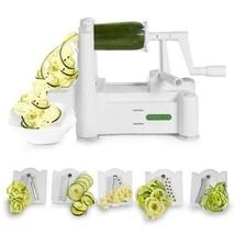 Spiralizer 5-Blade Vegetable Slicer Strongest Heaviest Duty Pasta Spaghe... - €37,80 EUR