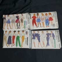 40 Vintage Sewing Patterns Lot Butterick Simplicity McCalls Waverly Clot... - $54.45