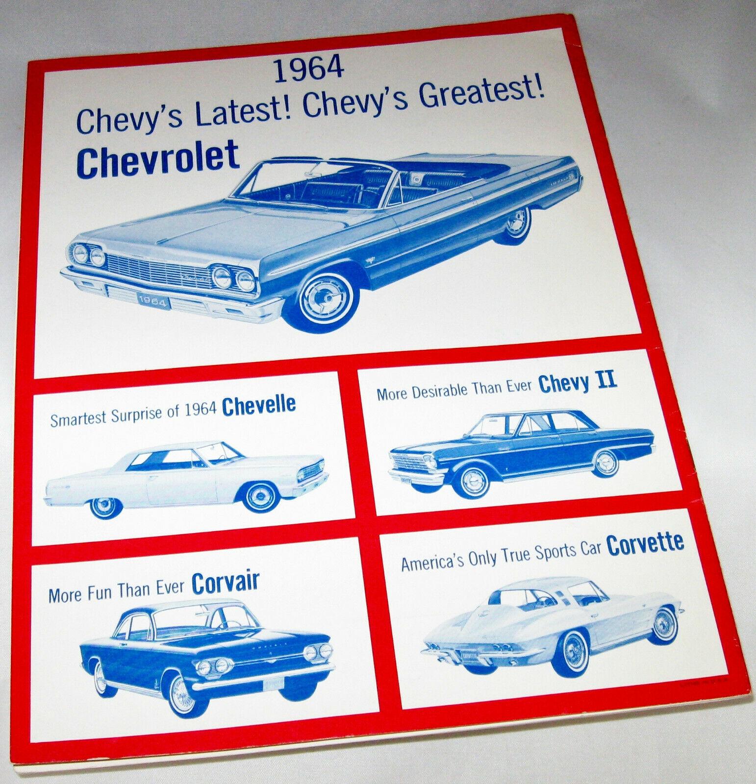 1978 Chevrolet Chevy Monte Carlo Sales Brochure Book