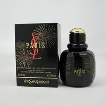 PARIS by Yves Saint Laurent 75 ml/2.5 oz EDT Collector Edition Spray NIB - $67.31