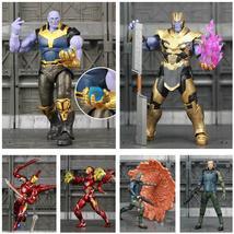 "Marvel Endgame Thanos Iron Man MK50 MK85 Mark 85 6"" Action Figure Tesser... - $30.48+"