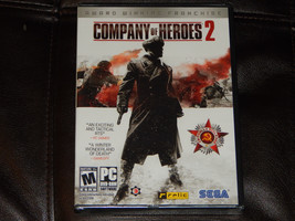 New! Company of Heroes 2 Windows PC Free Shipping Steam Strategy Multipl... - $13.12