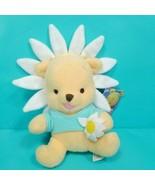 Disney Winnie the Pooh Bear Babies Plush Daisy Flower Easter Stuffed Ani... - $17.81