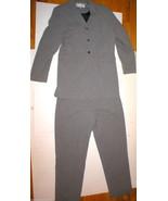 Womens 14 Pret A Porter Suit White Black Marbled Blazer Jacket Pants Wor... - $138.00
