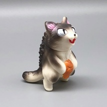 Max Toy Gray and White Micro Negora image 1