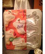 1991 Wilton MINI GHOSTS Cupcake Cake Pan Baking Pan Jello Mold Brand New... - $17.99