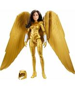 Mattel Wonder Woman 1984 Golden Armor Doll (~12-inch) in Light-Up Armor,... - $32.14