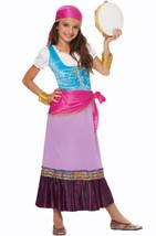 Pretty Gypsy Girls Halloween Costume New Size Small 4-6 - £16.32 GBP