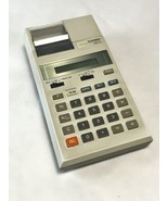CASIO HR-10 PRINTING CALCULATOR RARE NOW VINTAGE RETRO MADE IN JAPAN WOR... - $9.89