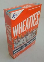 USA World Champions 2019 Soccer Woman Team Wheaties Cereal Box Unopened - $39.19