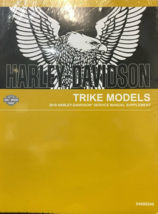 2019 Harley Davidson TRIKE Models Service Shop Manual SUPPLEMENT OEM - $168.25