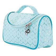 Beach Lace Waterproof Blue Cosmetic Storage Bag