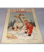 Home Arts Needlecraft Magazine Cover Art January 1937 H Hoecker Cover - $8.95