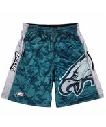 Philadelphia Eagles Big Logo Men's Polyester Athletic Shorts - Size Small - €28,16 EUR