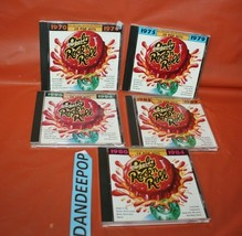 5 Only Rock N Roll Music CD's 1980-84 1985-89 90-94 70-74 75-79 - $44.54
