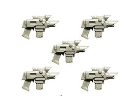 Spellcrow 28mm Conversion Bits Guards Improved Laser Pistols (Miniature Toy Part