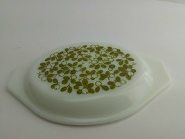 """Pyrex Green Olive Berries Replacement Lid Only 943 C  Oval Fits 8.5""""x6.5"""" (5B1) - $9.99"""