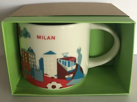 Starbucks You Are Here Collection Milano Milan Italy Italia Ceramic Coff... - $43.55