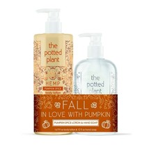 The Potted Plant Pumpkin Spice Body Lotion and Hand Wash Duo