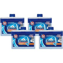 Finish Dishwasher Machine Cleaner, 8.45 fl oz Bottle, Dual Action To Fight Greas - $22.80