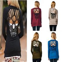 Autumn Winter Fashion Women Long Sleeve Slim Cardigan Sweater Halloween ... - $23.95