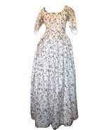 Lady's 18th Century Round Gown - Small - Various Fabrics - $299.00