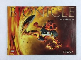 Lego Bionicle Tahu Nuva - Set 8572 Instructions / Manual / Only  - Year ... - $5.00